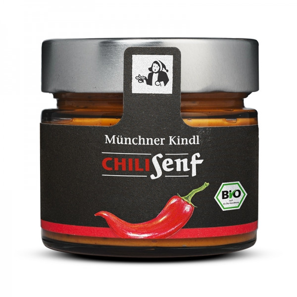 Münchner Kindl Bio Chili Senf