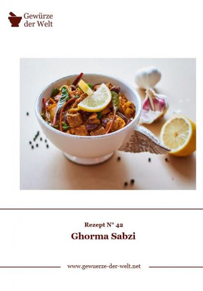 Rezeptkarte N°42 Ghorma Sabzi