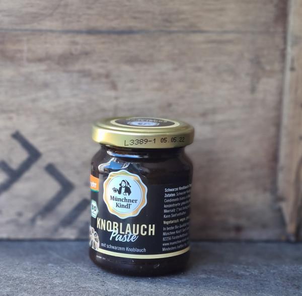 Münchner Kindl Bio Schwarzer Knoblauch-Paste