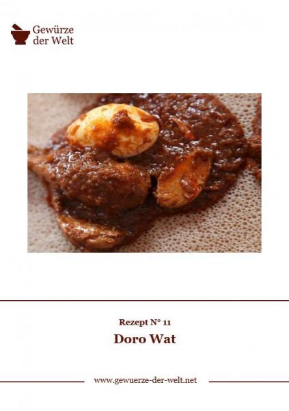 Rezeptkarte N°11 Doro Wat